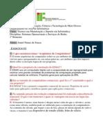 Sistemas Operacionais e Serviços de Redes  - Joniel Nunes