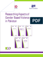 Gender Based Violence and its factors in Pakistan