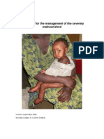 Mcn Guidelines for the Management of the Severely Malnourished