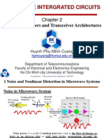Chapter2 System Parametters and Transciever Architectures