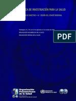 2009 Politica OPS Investigación en salud (Completo)