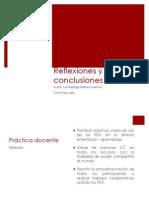 Reflexiones PREA Rodrigo Barba