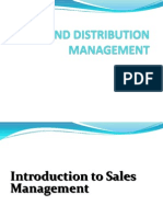 Sales and Distribution Management Unit-1