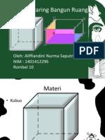 PPT Jaring-jaring kubus dan balok