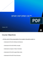 3Par Customer Training Inform (T and F Class) GOOD Document