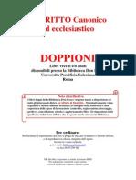 Diritto Canonico - libri