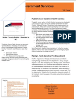 government services newsletter