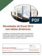 Novedades Excel 2013