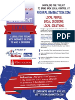Federalism in Action Toolkit Infographic