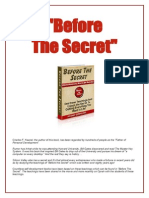 Before the Secret