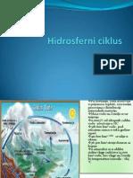 Hidrosferni ciklus