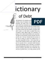 The Dictionary of Debt