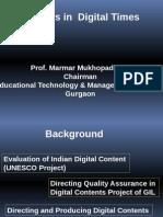 Teachers in Digital Times