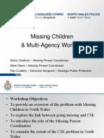 Workshop 1 - Ros Cuddihy North Wales Police