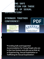 Workshop 3 - Paul O_Donnell Developing SAFE ACCOMMODATION  - Priority Childcare