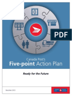 Canada Post five-point action plan