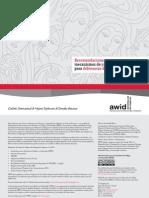 Recomendaciones para promover mecanismos de protección y seguridad para defensoras de derechos humanos (AWID)