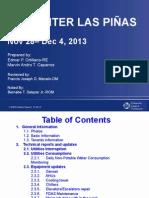 PN Facility Report WEEK 49-2013