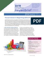 Nieuwsbrief Fiscaal 2013 Editie 6