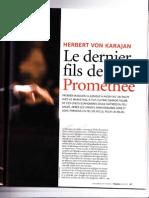 Karajan, le dernier fils de Prométhée