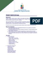 Programa Curso Project Basico