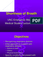 Shortness of Breath