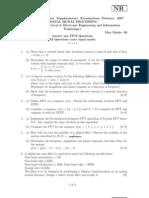 Nr410201 Digital Signal Processing Set1