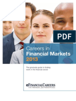 Careers in Financial Markets