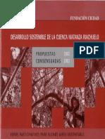 Desarrollo Sostenible de La Cuenca Matanza Riachuelo Propuestas Consensuadas 2002-2003