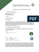 Informe Tecnico de Analisis Del Servidor Linux Con Nmon