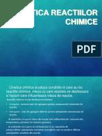 CINETICA REACTIILOR CHIMICE