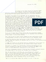 Letters of Titus C. R. Mendell on South Africa, 1970.
