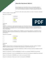 Evaluación Nacional 2013 - Psicologia 120 De 200