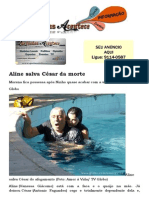 Aline salva César da morte