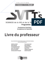 Livre Du Professeur - SVT- TS 2013
