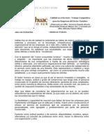 Calidad-En-el-servicio Ventaja Competitiva Para Las Empresas Del Sector Turistico