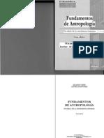Fundamentos de Antropologia - Ricardo Yepes Storck - Cap 1-4 - EDITABLE