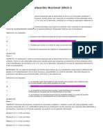 Evaluación Nacional 2013 - Psicologia (120 De 200)