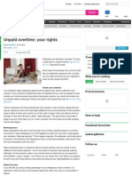 Unpaid Overtime - Your Rights - Money AOL.co.Uk - Jan2012