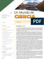 Un Mundo de Ciencia. Vol. 7, No. 2 Abril–junio 2009
