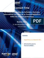 CESSI - Contact Time 11-12-13