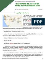 Massacre Par Les Wahhabites
