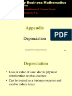 Contemporary Business Mathematics With Canadian Applications  Depreciation