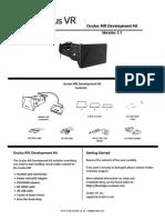Oculus Rift Development Kit Instruction Manual (1)
