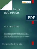 Proyecto de Electrónica