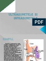 Ultrasunetele Si Infrasunete