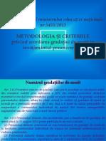 Gradatii de Merit 2014