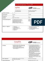 ACA Techncial Exam Comparison