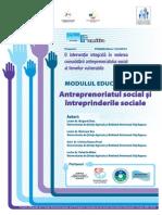 MODUL 3 - Antreprenoriatul Social Si Intreprinderile Sociale