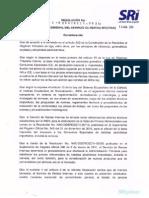 Resolución No. NAC-DGERCGC11-00316, publicada en el R.O. 524 de 31-08-2011